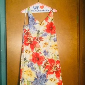 Tommy Bahama cotton/silk summer dress